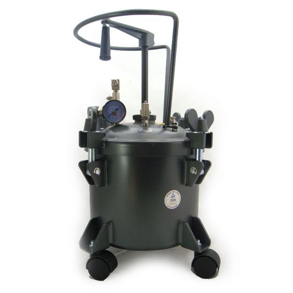 10 LT Paint Pressure pot Tank also Spraygun complete FMT6054