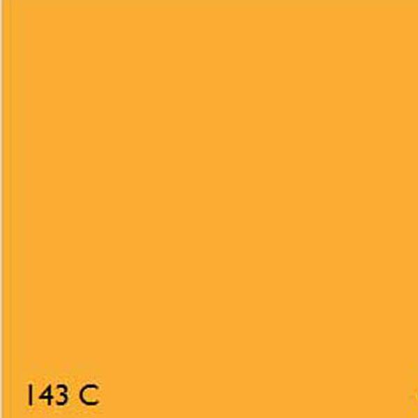 Pantone Fluorescent 143c Yellow Range