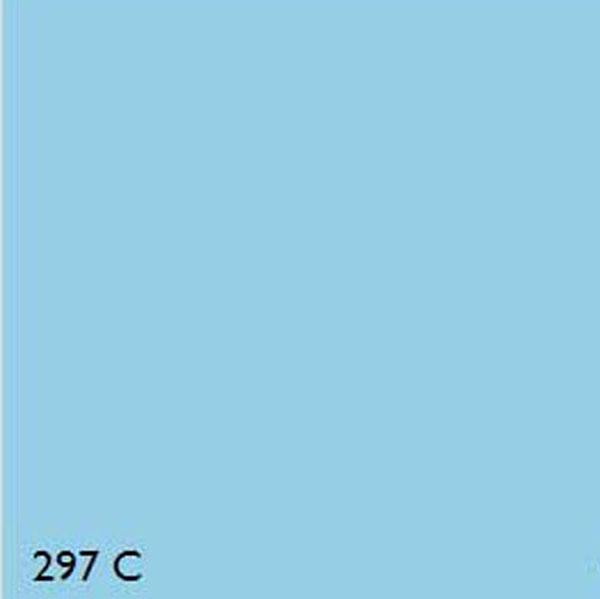 Pantone 297c Light Blue Range