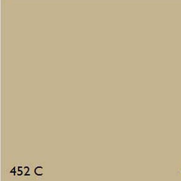 Pantone 452c Oxide Yellow Range