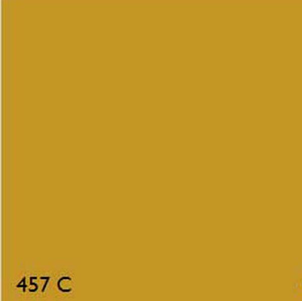 Pantone 457c Oxide Yellow Range