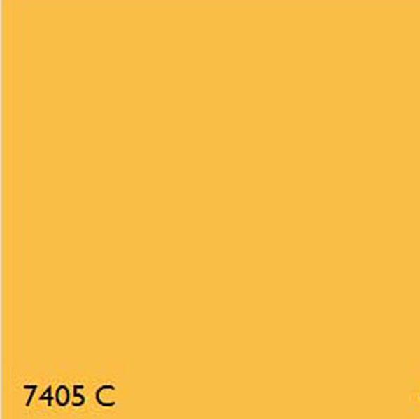 Pantone 7405C YELLOW RANGE
