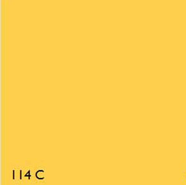Pantone Fluorescent 114c Yellow Range