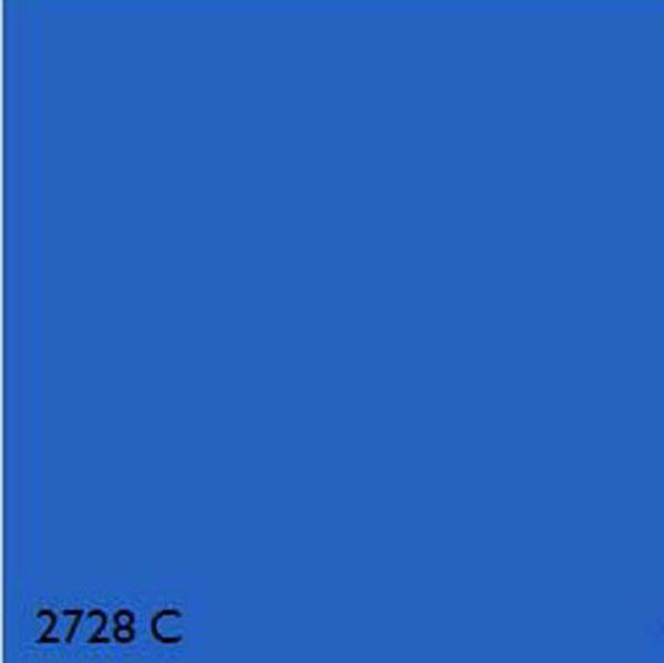 Pantone 2728c Blue Range