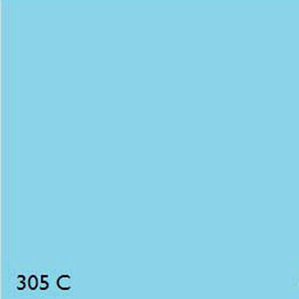 Pantone 305c Light Blue Range