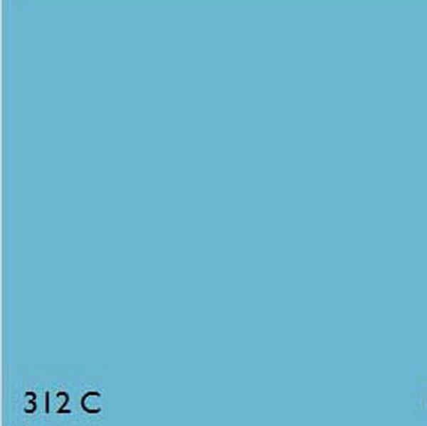 Pantone 312c Light Blue Range
