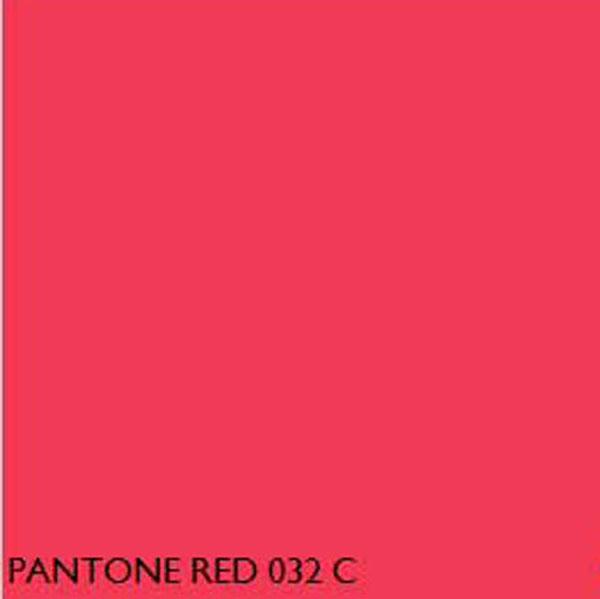 Pantone Fluorescent Red 032c