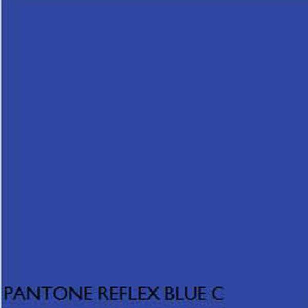 pantone fluorescent reflex blue c